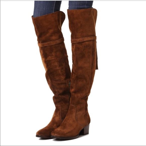 8f1793f5093 F R Y E Clara Tassel Over the Knee Boot